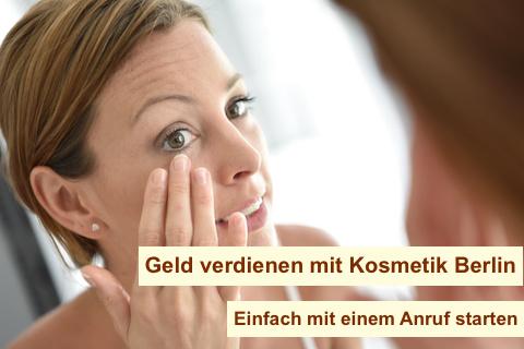 Geld verdienen mit Kosmetik Berlin - Beauty Consultant