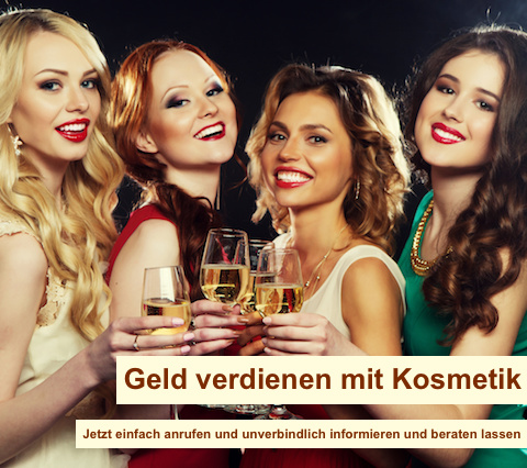 Nebenjob Berlin - Geld verdienen mit Kosmetik